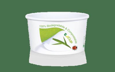 100% Biologisch afbreekbaar en composteerbare E-Cup.