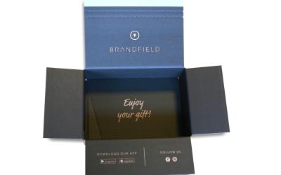 Slimme verzenddoos voor Brandfield