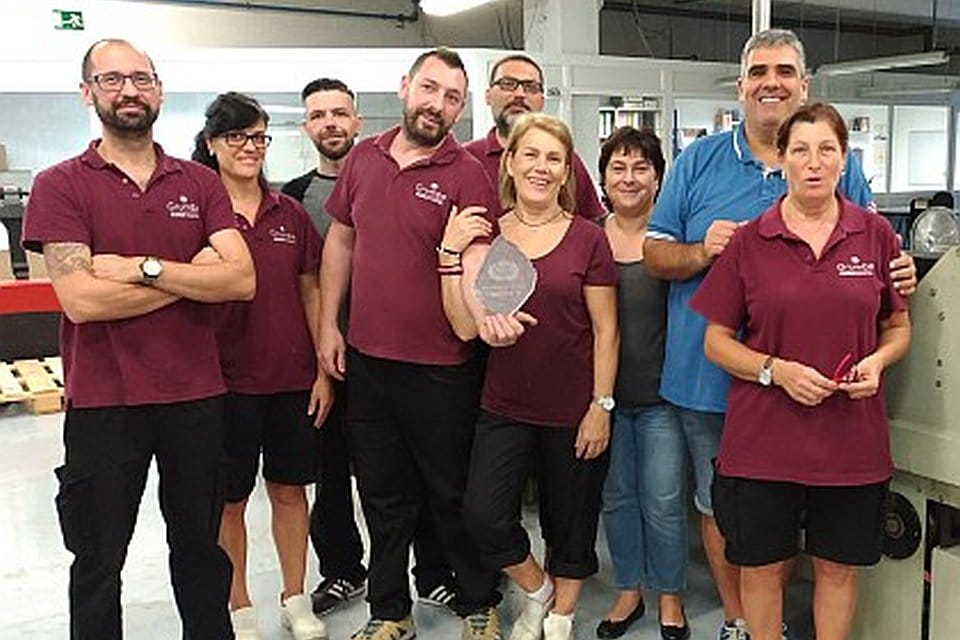 Agia supplier improvement award