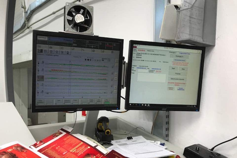 EyeC controleert en bewaakt de kwaliteit van onze vouwkatonnage